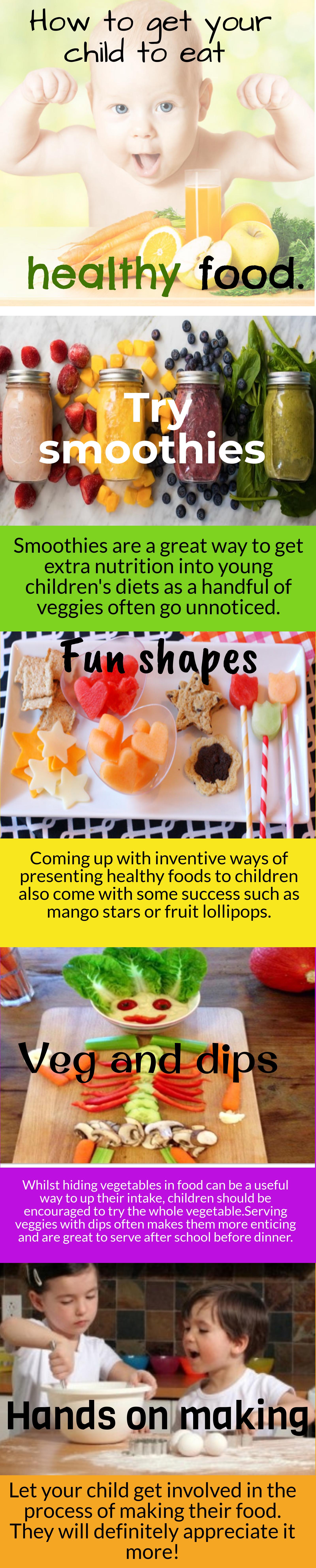 Getting kids eating healthier food
