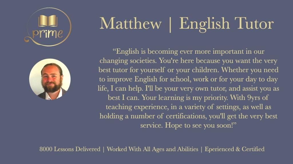 native english teacher online